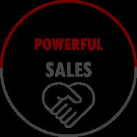 Powerful sales